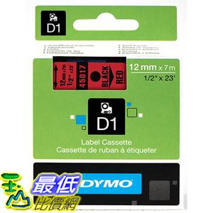 [美國直購] DYMO 45017 Standard D1 Self-Adhesive Polyester Tape for Label Makers 1/2 inch x 23 標籤紙