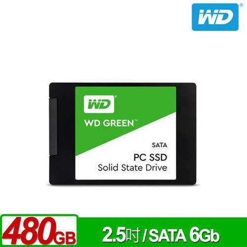 WD SSD 480GB 2.5吋固態硬碟(綠標)