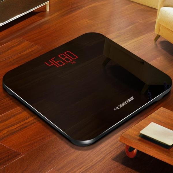 體重計 美恩usb可充電電子稱體重秤迷你家用人體秤精準成人女減肥稱重計
