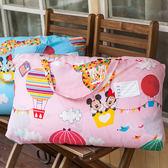 睡袋 / 兒童標準睡袋【米奇熱氣球-兩色可選】標準幼教款  高密度磨毛布  戀家小舖台灣製ABF088