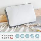 純然呼吸止鼾設計天絲獨立筒枕(2入)/H&D東稻家居