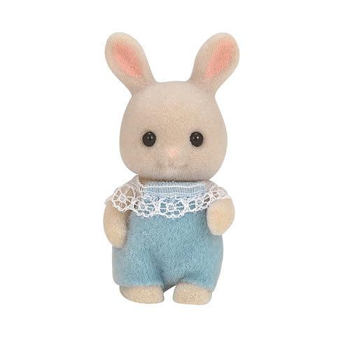 森林家族 人偶 牛奶兔嬰兒