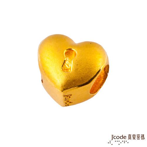 J'code真愛密碼-堅定之心 黃金串珠