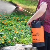 澆花噴壺園藝氣壓式手動噴霧器農用洗車噴水壺【米娜小鋪】 igo