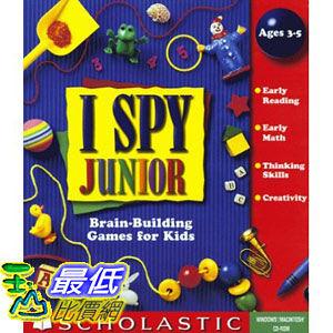 [美國直購 ShopUSA] I Spy Junior (Jewel Case) by Scholastic $669