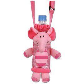 美國 Stephen Joseph 兒童造型水壺袋-粉紅象