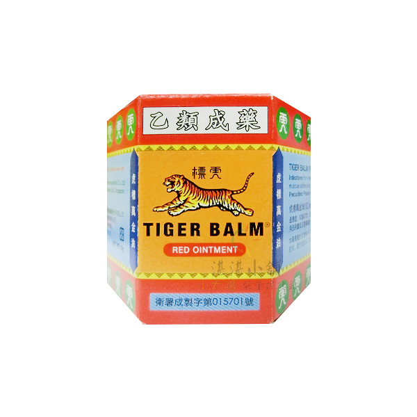 虎標萬金油Tiger Balm (紅) 軟膏 19g