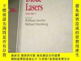 二手書博民逛書店Semiconductor罕見Diode lasers VOLU