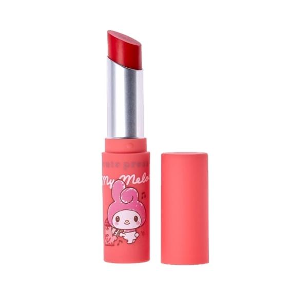 cute press 美樂蒂限量聯名-持久潤唇膏02珊瑚紅 3.4g