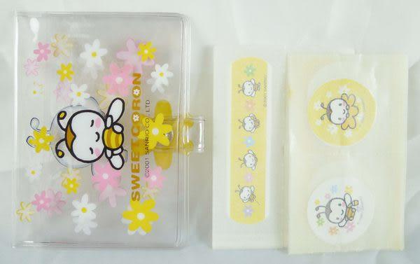 【震撼精品百貨】Sweetcoron Sanrio 小蜜蜂~OK蹦收納包卡片收納夾