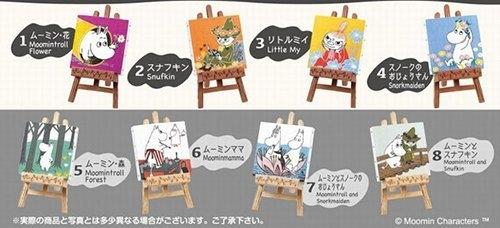 日本正版 Re-Ment 嚕嚕咪 MOOMIN 嚕嚕米畫冊收藏集 盒玩公仔擺飾 不挑款單盒販售 COCOS TU003