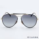 DB EYEWEAR 貝克漢設計品牌 DB 7003S (黑-金) 飛官款 太陽眼鏡 久必大眼鏡