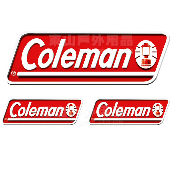Coleman CM-0524原廠貼紙/3PCS Logo標貼
