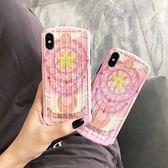 ~SZ33 ~美少女粉星月棒曲面行李箱軟殼iphone XS max 手機殼iphone 8 plus iphone xr 手機殼iphone xs 手機殼
