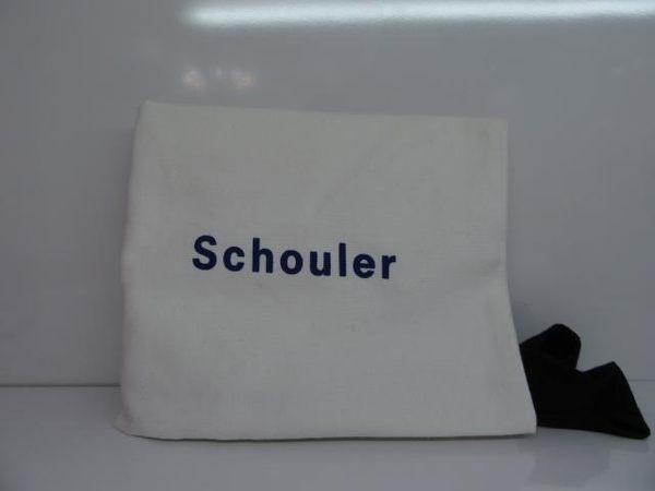 Proenza Schouler 橘色山羊皮迷你肩背斜背包 PS1【BRAND OFF】