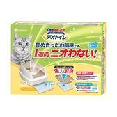 日本Unicharm消臭大師 雙層貓砂盆半罩1組x2入