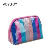 VOYJOY新款防水化妝包女彩色便攜手拿包收納袋旅行洗漱包浴包精美