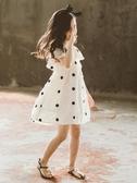 童裝女童連衣裙夏裝新款超洋氣兒童女裝夏款夏季大童女孩裙子 朵拉朵