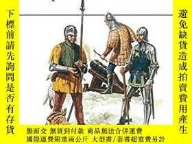 二手書博民逛書店Medieval罕見European Armies 1300-1500 (men At Arms Series,