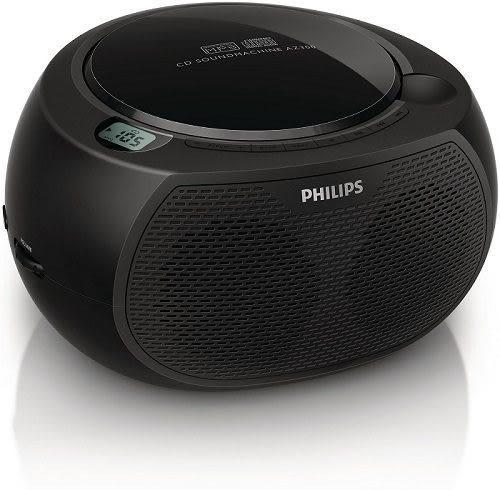 ◤A級福利出清品‧限量搶購中◢ PHILIPS 飛利浦 黑旋風USB/CD手提音響 AZ380 / AZ-380