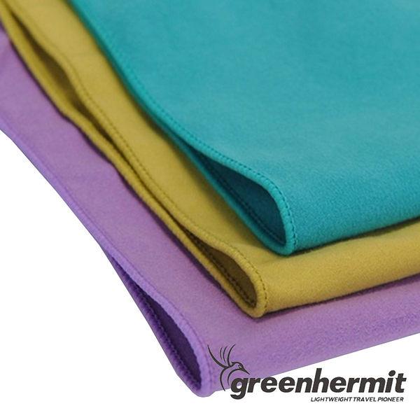 GREEN HERMIT 蜂鳥 SUPERFINE FIBER 超細快乾毛巾- L TB5103