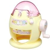 〔小禮堂〕角落生物 DIY針織毛線玩偶製造機玩具組《粉黃.蛋型》勞作玩具 4904810-96699