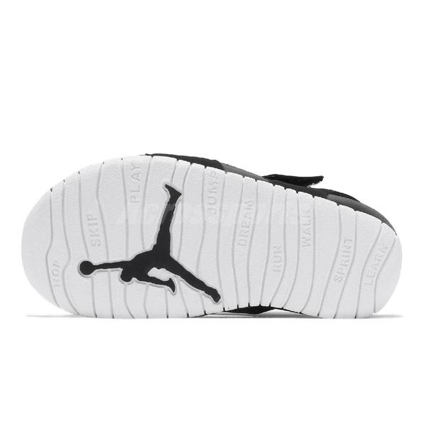 Nike 涼鞋 Jordan Flare TD 黑 護趾 喬丹 小童鞋 幼童 小朋友【ACS】 CI7850-001