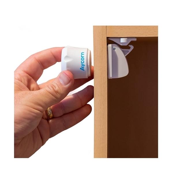 [9美國直購] 磁吸兒童安全鎖 10入 免打孔 Magnetic Child Proof Locks Easy Install in Seconds B073C54BCM