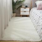 北歐ins長方形白色長毛絨臥室床邊地墊客廳茶幾地毯定制滿鋪地毯 黛尼時尚精品