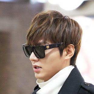 太陽眼鏡 韓國明星款 老虎頭超大框眼鏡 李敏鎬同款墨鏡【B9113】