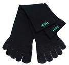 H&H 銀纖維活力五指襪 2雙/包