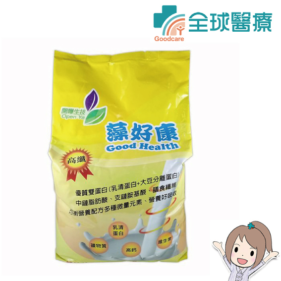 藻好康 均衡營養配方-高纖 3.021公斤/包