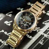 A/X Armani Exchange 亞曼尼 AX2611 名人風範三眼計時腕錶 熱賣中!