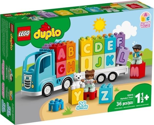 樂高LEGO DUPLO 字母卡車 10915 TOYeGO 玩具e哥