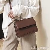 小方包 休閒復古小方包包女2021新款潮斜背包歐美百搭側背包女包  【榮耀 新品】