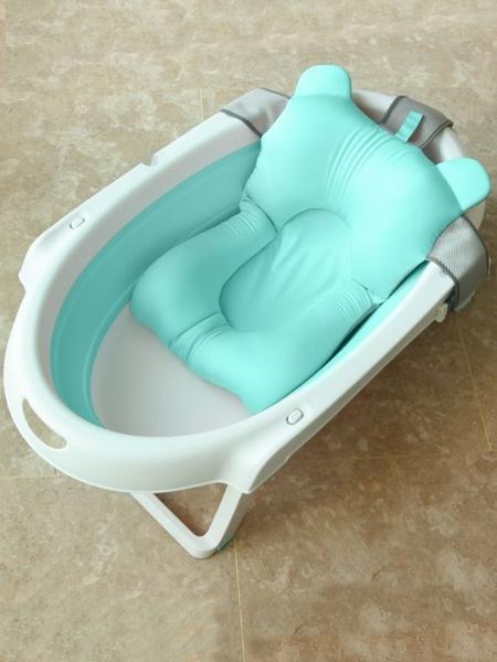 寶寶洗澡盆可坐躺嬰兒浴盆折疊新生兒大號兒童沐浴桶通用幼兒用品