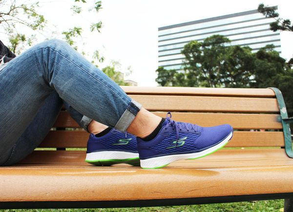 SKECHERS 健走系列 GO WALK SPORT 藍 運動鞋 54141BLGR 男鞋
