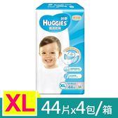 【金好奇】 pH5.5 護膚乾爽紙尿褲XL (44片x4包/箱)-箱購
