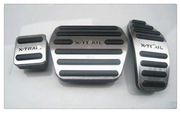 【車王小舖】日產 Nissan X-trail 改裝精品 油門踏板 剎車踏板 駐車踏板 三件組