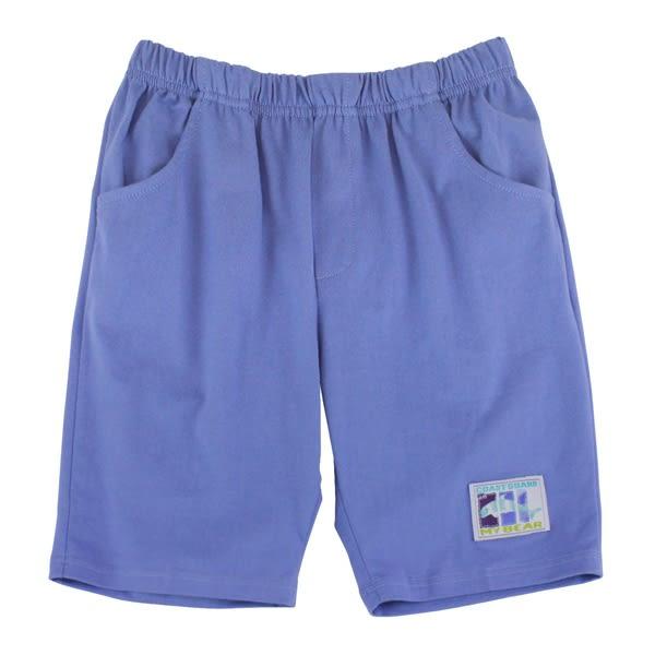【愛的世界】純棉鬆緊帶五分褲/8~10歲-台灣製- ★春夏下著