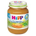 HiPP喜寶-天然蔬菜小牛肉全餐125g No.6152【TwinS伯澄】