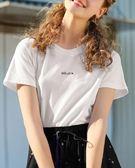 MG小象短袖T恤女新款2018夏季純棉寬鬆學生韓版印花小清新上衣潮 春生雜貨