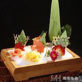 竹制壽司盤子料理盒日韓料理壽司刺身冰盤用具海鮮盛器盛臺        瑪奇哈朵