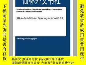 二手書博民逛書店【罕見】3D Android Game Development