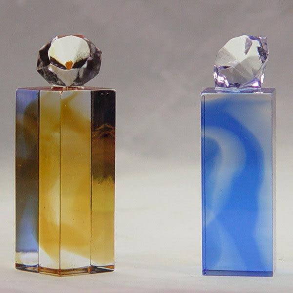 鹿港窯-居家開運水晶琉璃吉祥印章【大鑽方形印章】附精美包裝◆免運費送到家