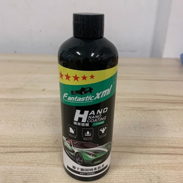 汽車鍍膜劑增光劑納米車漆塑膠鍍晶拋光打蠟用品(300ML/777-11024)
