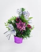 聖誕樹20cm裝飾聖誕樹(紫),聖誕佈置/桌上型迷你聖誕樹/聖誕裝飾/擺飾【X454059】節慶王