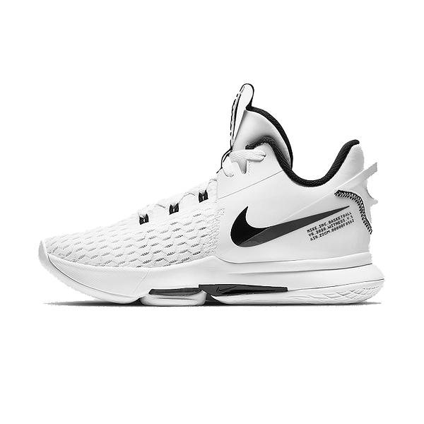 NIKE LEBRON WITNESS V EP 白 男 高筒 XDR 包覆 氣墊 舒適 緩震 籃球鞋 CQ9381101