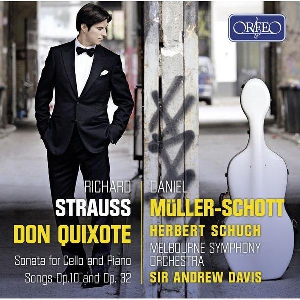 【停看聽音響唱片】【CD】繆勒-修特 / 理查.史特勞斯:(唐吉軻德),大提琴作品集