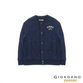 【GIORDANO】童裝好日子刺繡棒球外套(62 海底藍 )